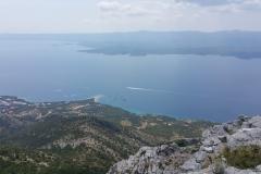 widok zVidovej Góry naZlatni Rat