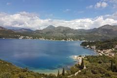 widok z Magistrali Adriatyckiej