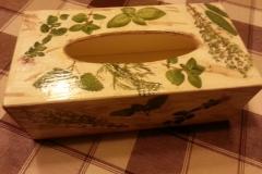 Pudełko na chusteczki_zioła