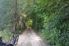 Niebieski szlak rowerowy: Duża pętla mrągowska;Żabieniec