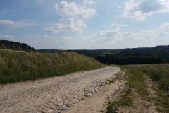 Niebieski szlak rowerowy: Duża pętla mrągowska; okolice Wierzbowa