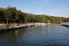 Niebieski szlak rowerowy: Duża pętla mrągowska; Mragowo, Jezioro Czos, Ekomarina