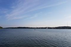 Niebieski szlak rowerowy: Duża pętla mrągowska; Mragowo, Jezioro Czos,