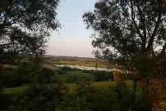 Trasa rowerowa dookoła Jeziora Juksty, okolice Muntowa