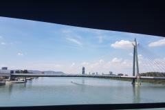 Wiedeń trasa wzdłuż Dunaju