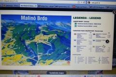 Malino Brdo - mapa