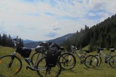 rowery po wycieczce wyciągiem
