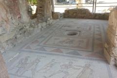 Kos - starożytna mozaika