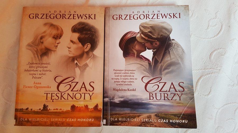 Adrian Grzegorzewski: Czas tęsknoty, Czas burzy
