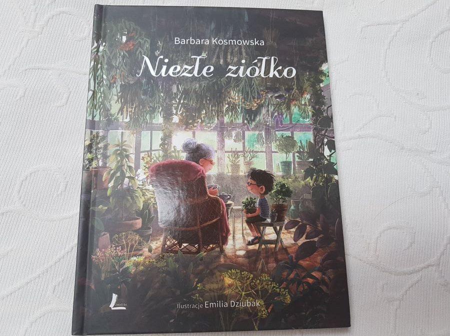 Barbara Kosmowska: Niezłe ziółko