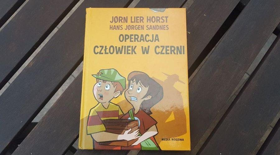 Hans Jørgen Sandnes, Jørn Lier Horst: Operacja Człowiek wCzerni